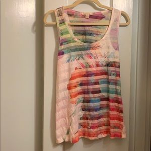 Forever 21 multi-color women's tank top